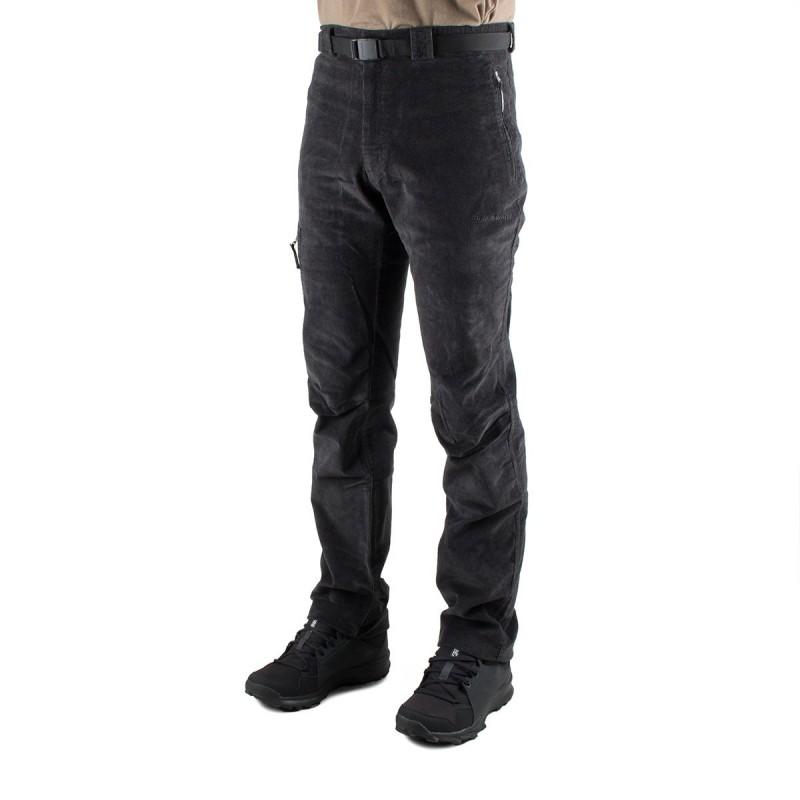 Trangoworld Pantalón de pana Goym Negro Hombre