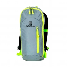 Nonbak Mochila Backpack Volcano Grey Reflectante Gris Unisex