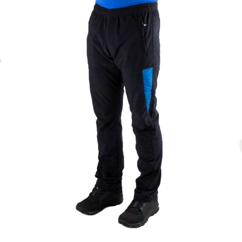 Ternua Pantalón Micropana Linard B Negro Azul Hombre