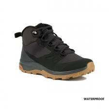Salomon Bota OUTsnap CSWP Black Ebony Negro Hombre