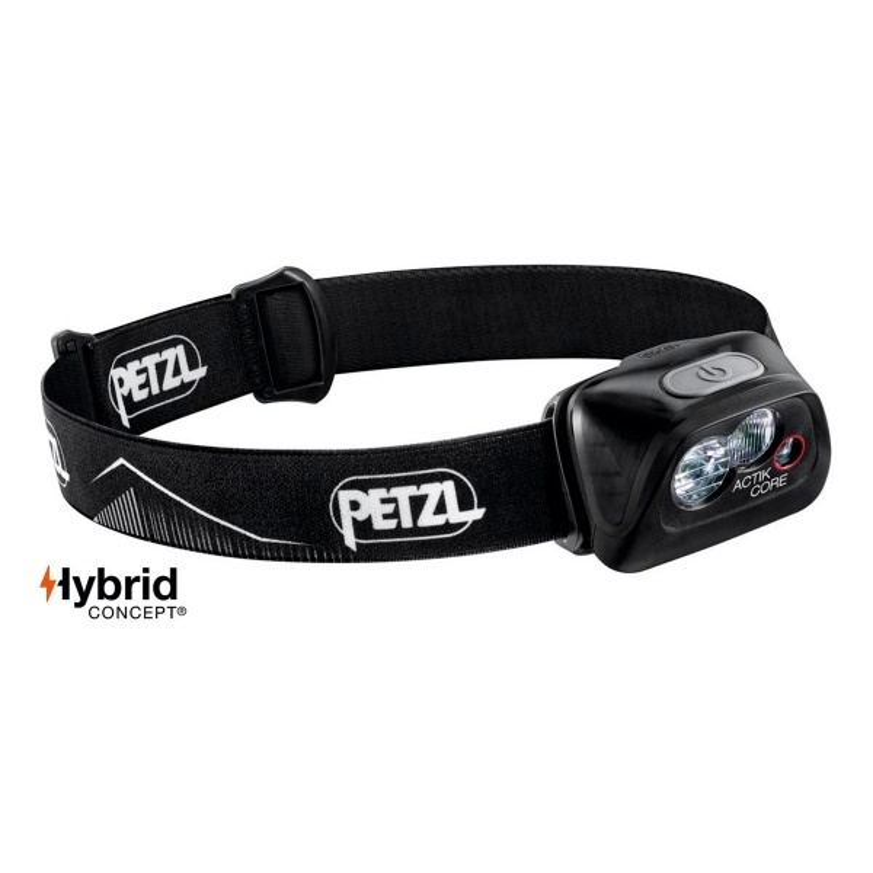 Petzl Frontal Actik Core 450 Negro