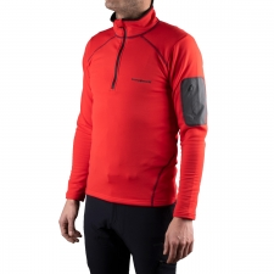 Trangoworld Pullover Mogao Negro Rojo Hombre