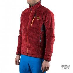 Karpos Chaqueta Polar Vertice Fleece Rojo Gris Hombre
