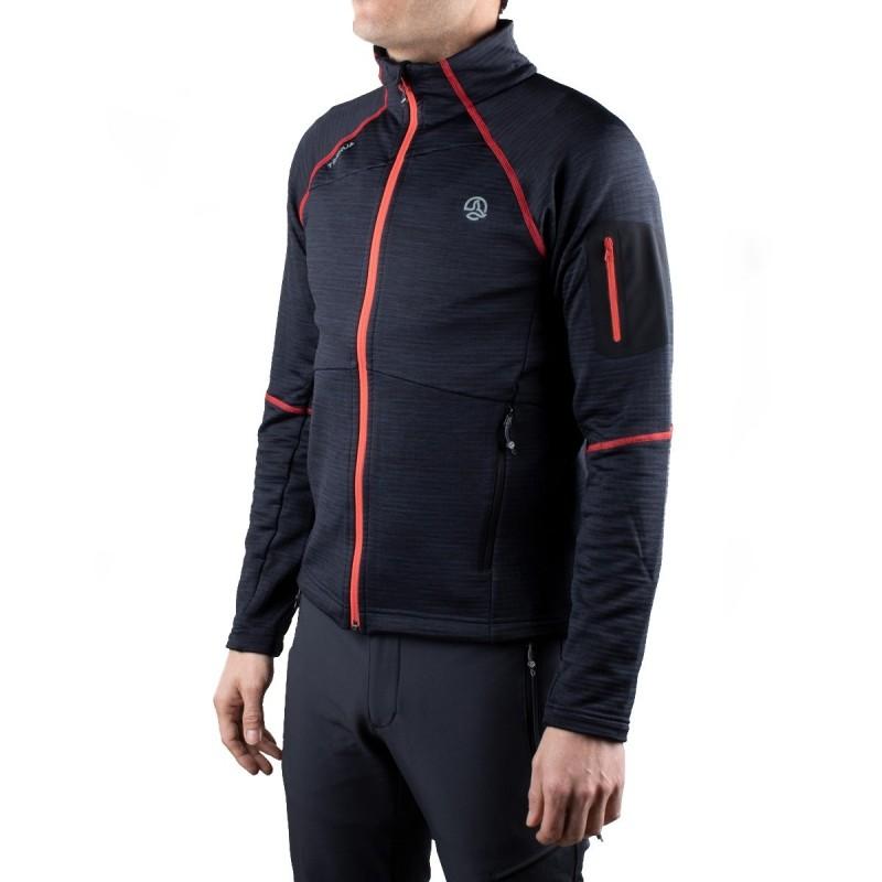 Ternua Chaqueta Sunset Peak Jacket E Negra Roja Hombre