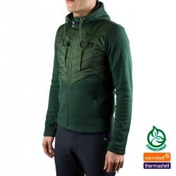 Ternua Chilaw Hybrid JKT A-Deep Lichen Verde Hombre