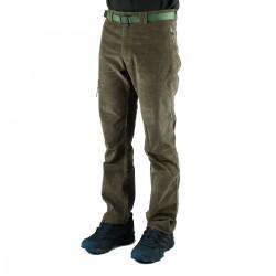 Trangoworld Pantalón de pana Goym Kaki Hombre