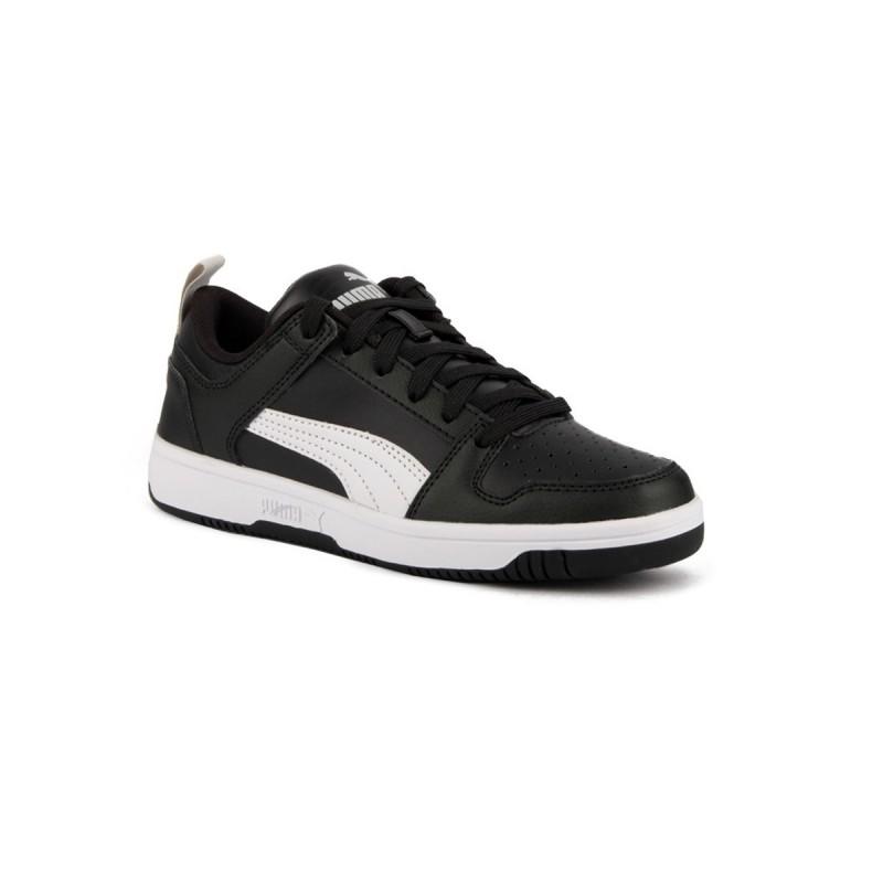 Puma Zapatilla Rebound Layup JR Puma Black White Negro Blanco