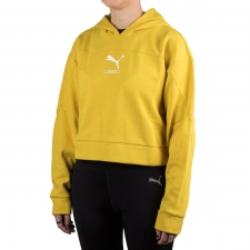 Puma Sudadera Nu-Tility Hoody Sulphur Amarilla de Mujer