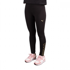 Puma Mallas Largas Athletics Leggings Puma Black Negro Mujer