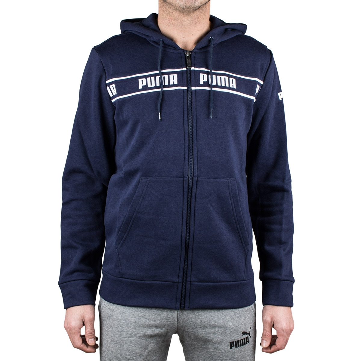 Puma Chaqueta con Capucha Amplified Hooded Jacket FL Puma Poacoat Hombre