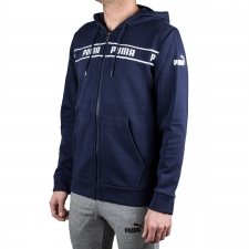 Puma Chaqueta con Capucha Amplified Hooded Jacket FL Puma Poacoat Azul Hombre