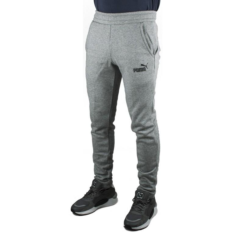 Puma pantalón deportivo gris slim fit
