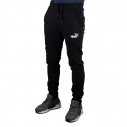 Puma pantalón deportivo Cotton Black Negro Hombre