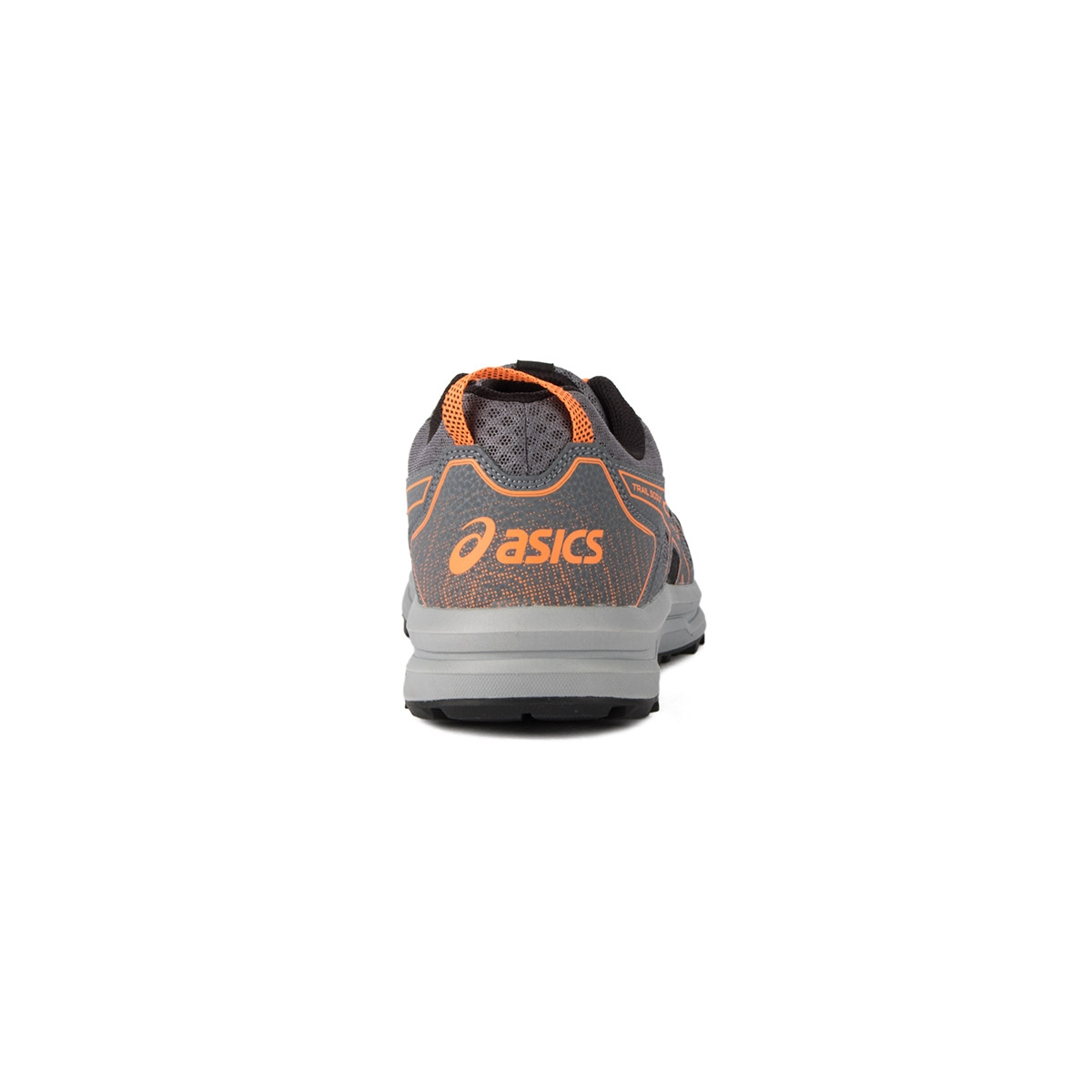 Asics Trail Scout Metropolis/Shocking Orange Gris Narajna Hombre