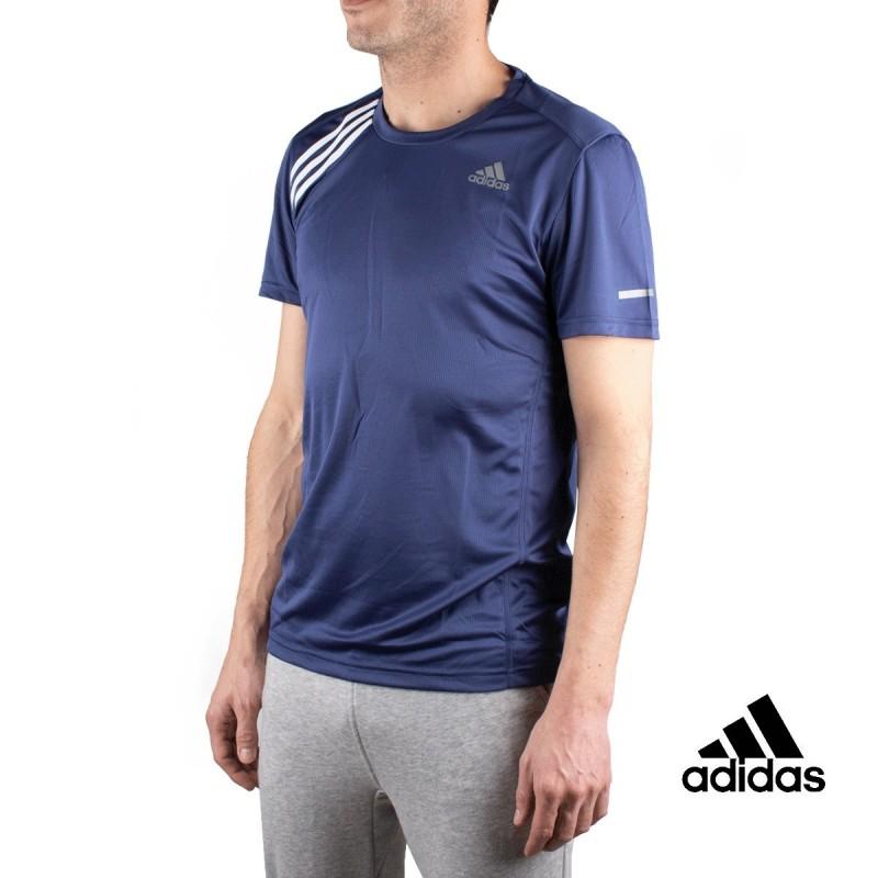 Adidas Camiseta Own The Run Tee Azul Hombre