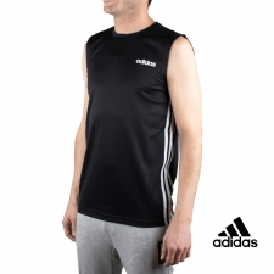 Adidas Camiseta D2M SL 3S Negro Hombre
