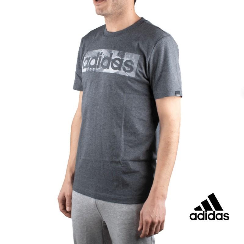Adidas Camiseta M BXD PHOTO T Gris Hombre