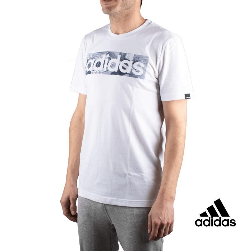 Adidas Camiseta M BXD PHOTO T Blanco Hombre