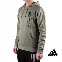 Adidas Sudadera Con Capucha M BB HDY Verde Hombre