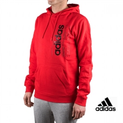 Adidas Sudadera Con Capucha M BB HDY Rojo Hombre