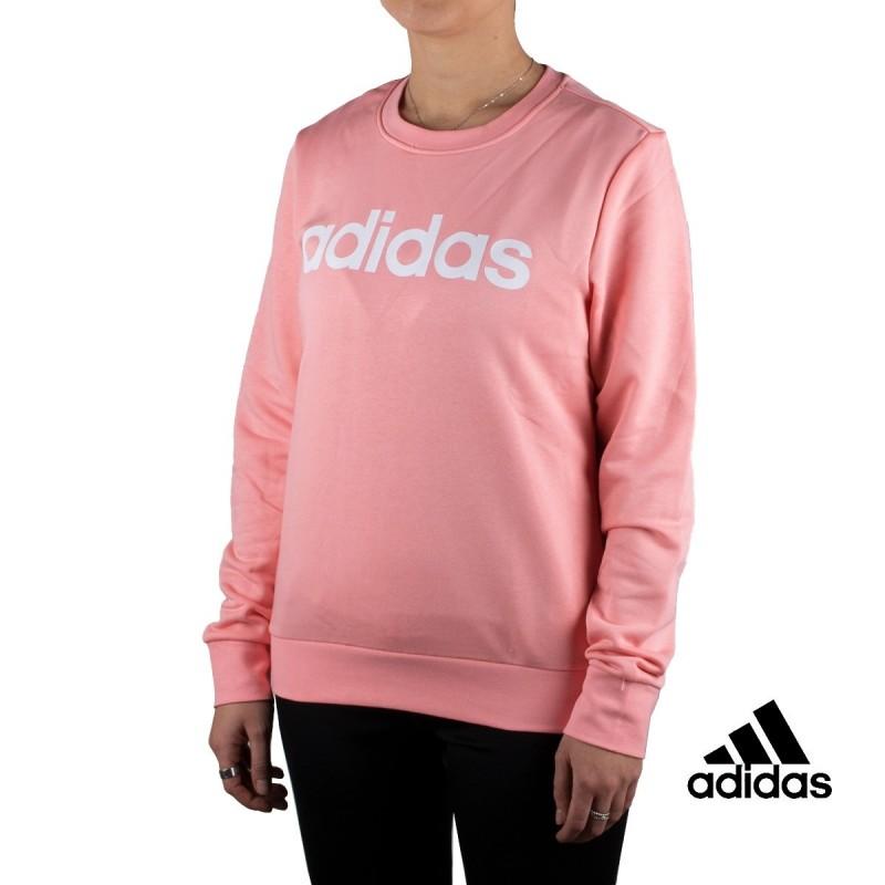 Adidas Sudadera W E LIN SWEAT Rosa Mujer