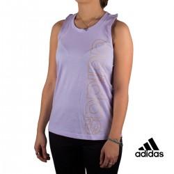 Adidas Camiseta W E BRANDED TK Violeta Mujer