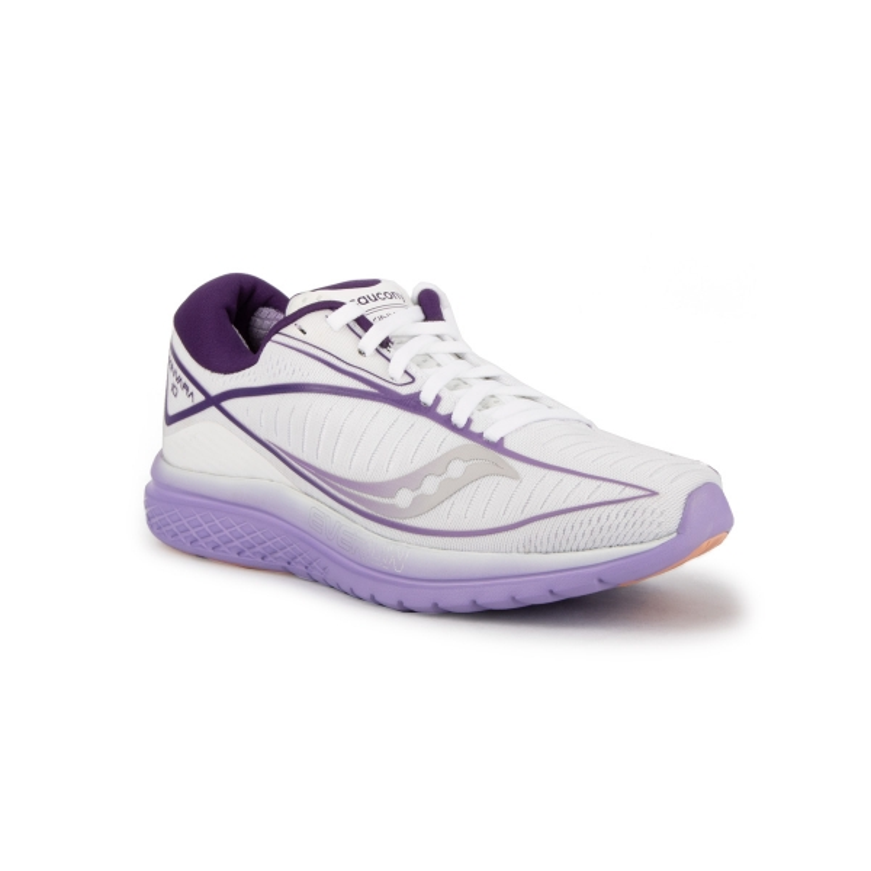 Saucony Zapatilla Kinvara 10 Blanc/Violet Blanca Violeta Mujer