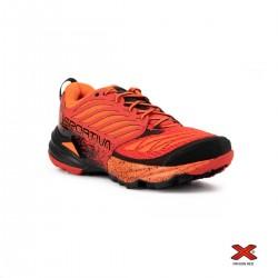 La Sportiva Zapatilla Akasha Flame Rojo Naranja Hombre