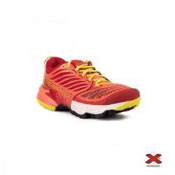 La Sportiva Zapatilla Akasha Berry Rojo Amarillo Mujer
