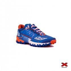 La Sportiva Zapatilla Bushido Marine Blue/Lily Orange Azul Naranja Mujer