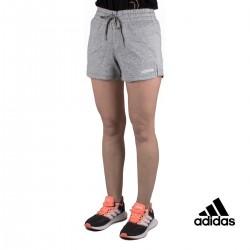 Adidas Pantalón corto W E PLN SHORT Gris Mujer