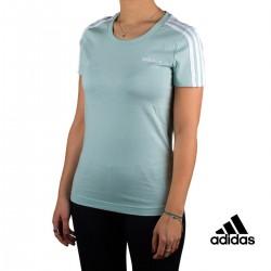 Adidas camiseta manga corta W E 2S SLIM TEE Verde Menta Mujer
