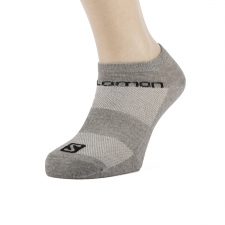 Salomon Calcetin Life Low Tricolor Negro Gris Blanco (pack 3 pares)
