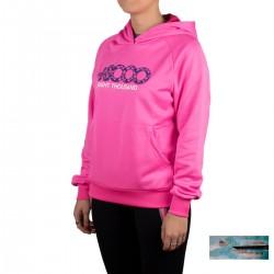 +8000 Sudadera Tanaka 20V Rosa Fluor Mujer