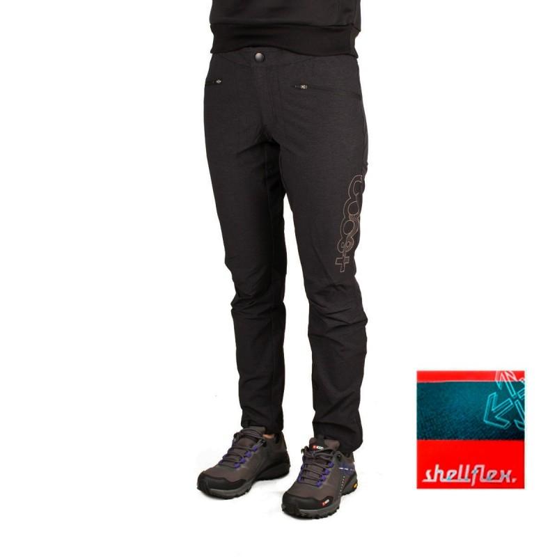 +8000 Pantalón Tricora 20V Negro Tejido Bicolor Mujer