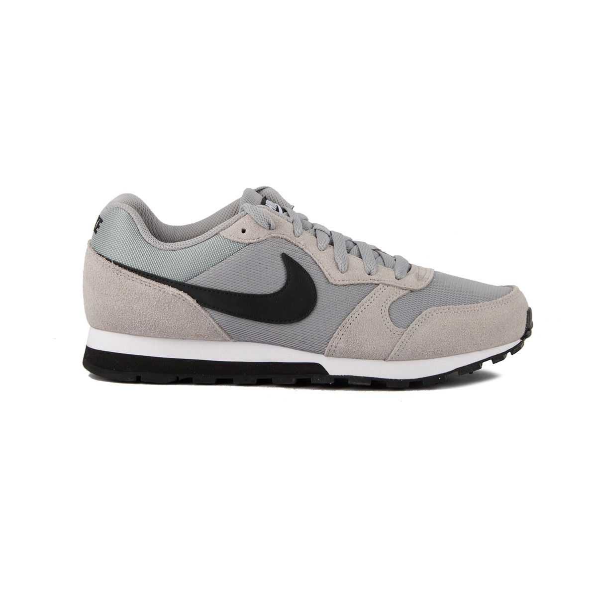 Nike MD Runner 2 Wolf Grey Black Gris Hombre