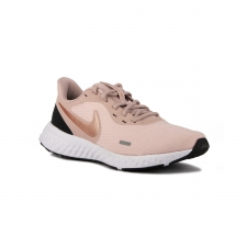 Nike Revolution 5 wmns Barely Rose Mtlc Red Bronze Rosa Mujer