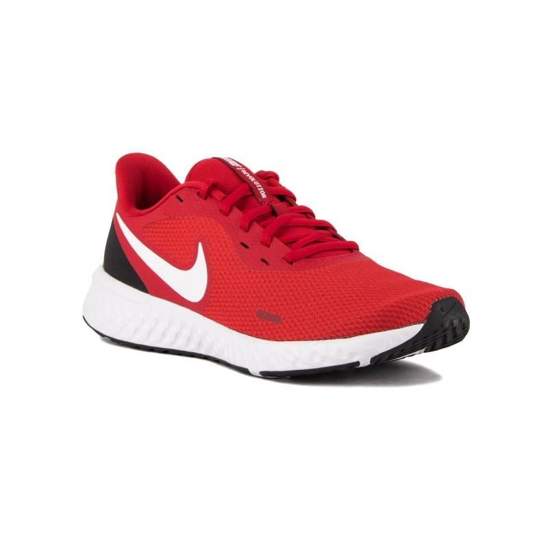Nike Revolution 5 Gym Red White Rojo Hombre