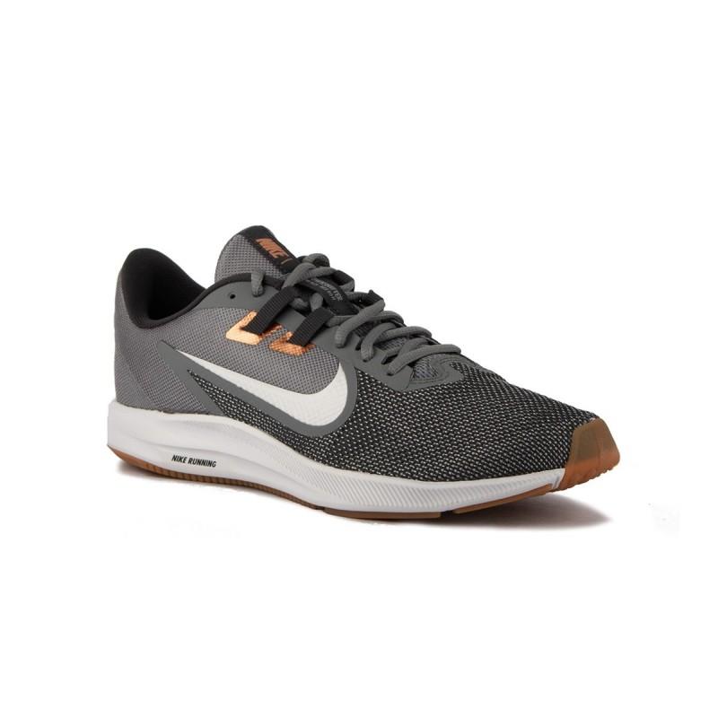 Nike Zapatillas Downshifter 9 Smoke Grey Gris Cobre Hombre