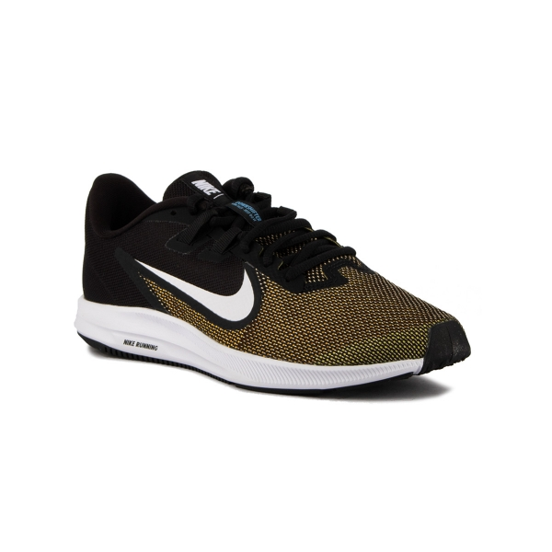 Nike Zapatillas Downshifter 9 Laser Orange Black Negro Amarillo Hombre