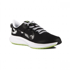 Nike Zapatillas Runallday 2 Black White Ghost Green Camuflaje Hombre
