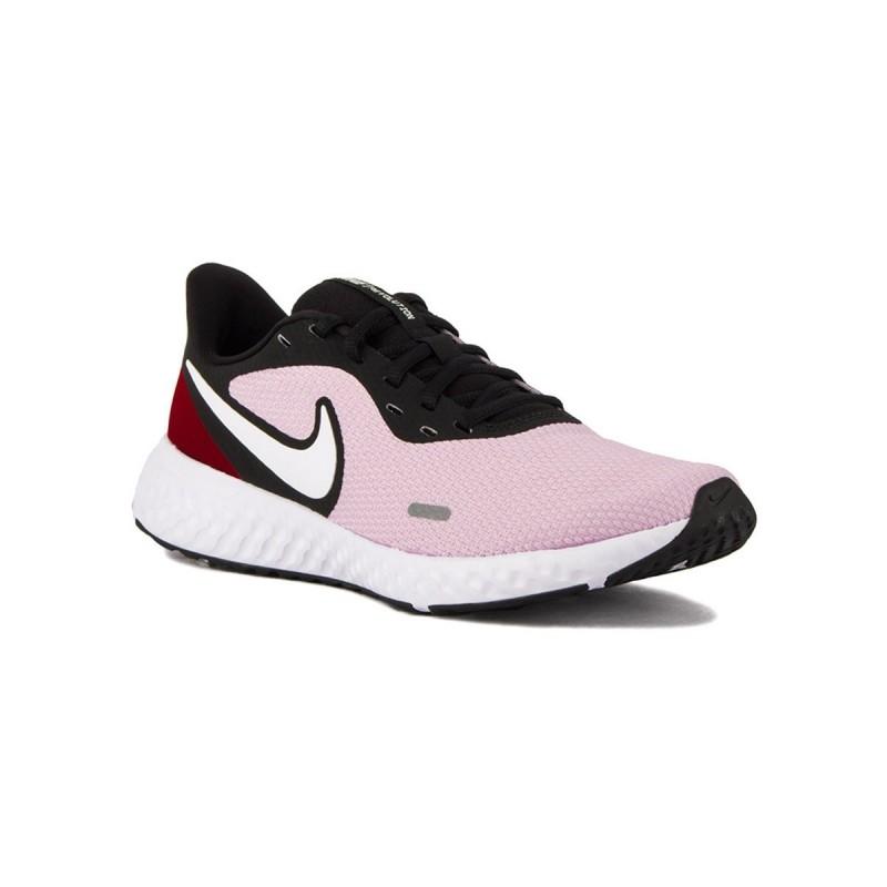 violación biología Ananiver  Nike Revolution 5 wmns Ice Lilac Lila Granate Negro Mujer