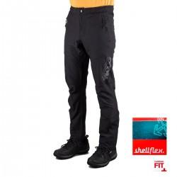 +8000 Pantalón JOG 20 V Negro Tej.bicolor Hombre