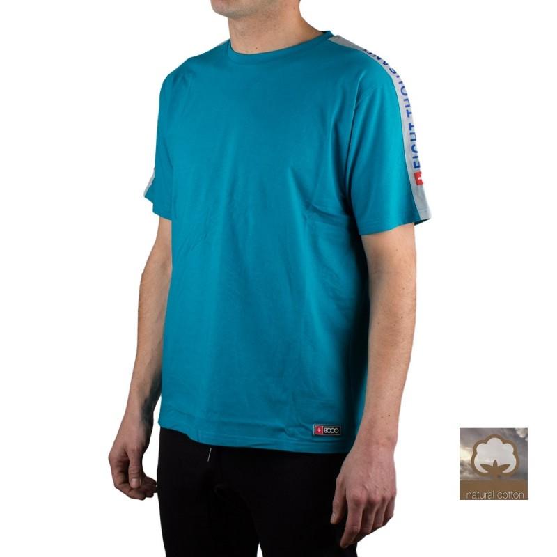 +8000 Camiseta DIEM 20V Verde Azulado Hombre