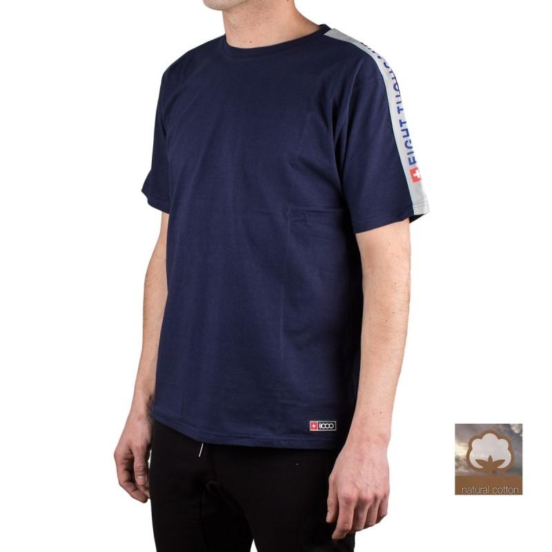 +8000 Camiseta DIEM 20V Azul Lavado Hombre