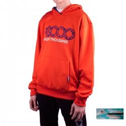 +8000 Sudadera Daniex J 20V Lava Naranja Niño
