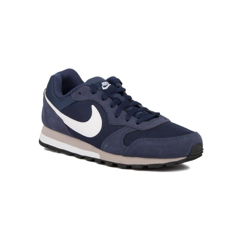 Nike MD Runner 2 Marino Midnight Navy White Wolf Grey Azul Hombre