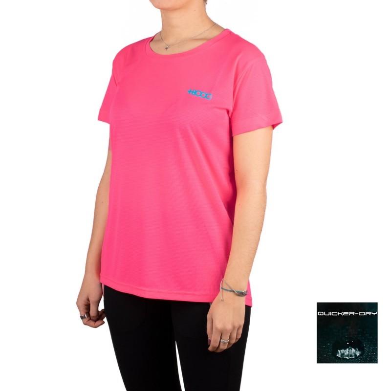 +8000 Camiseta Shira Geranio Rosa Mujer