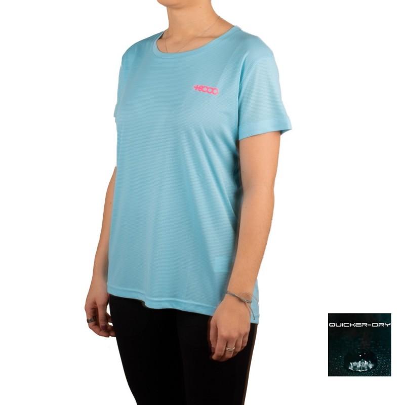 +8000 Camiseta Shira Agua Marina AzulMujer