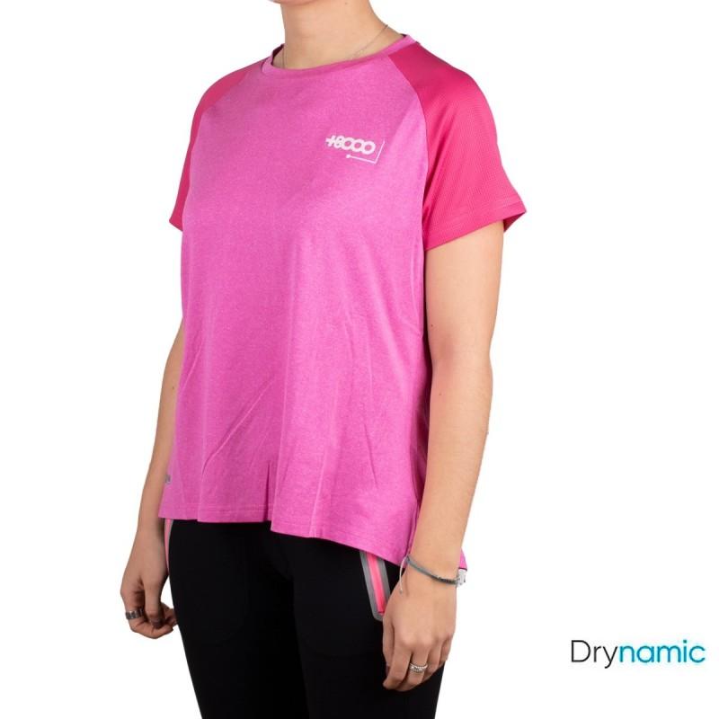 +8000 Camiseta Ameglia Fucsia Vigore Rosa Mujer